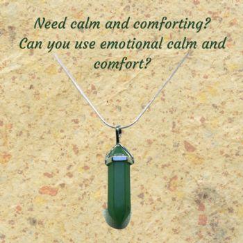 Green Aventurine Gemstone Pendant